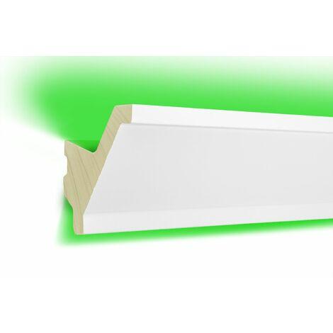 Profil LED | éclairage indirect | opaque | bande | 80x80 | LED-15