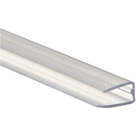 Profil polycarbonate de bordure et obturation