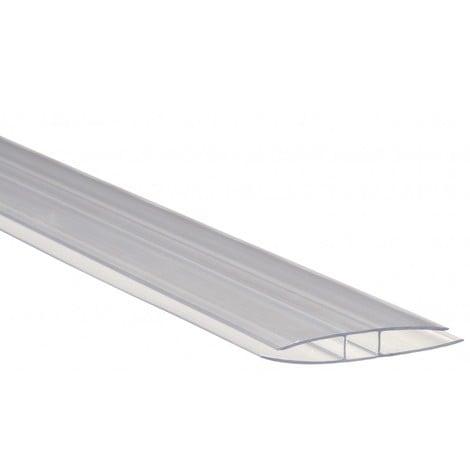 Profil polycarbonate de jonction - Epaisseur - 4 mm, Longueur - 200 cm