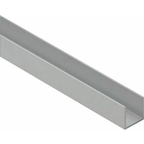 Profil U en aluminium Duval