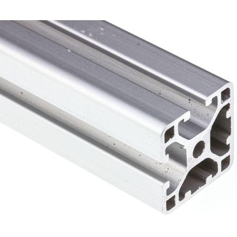 Profilé Alliage d'aluminium RS PRO 30 x 30 mm, longueur de 2m