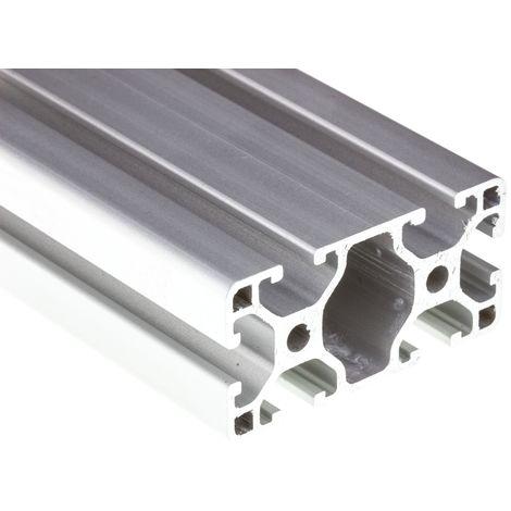 Profilé Alliage d'aluminium RS PRO 30 x 60 mm, longueur de 3m