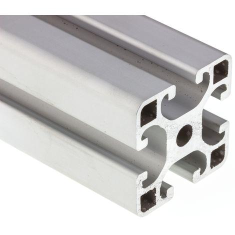 Profilé Alliage d'aluminium RS PRO 40 x 40 mm, longueur de 1m