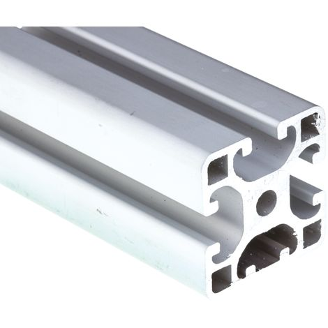 Profilé Alliage d'aluminium RS PRO 40 x 40 mm, longueur de 2m