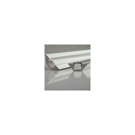 Profilé aluminium angulaire 45° ALU-CORNER - Longueur 1m