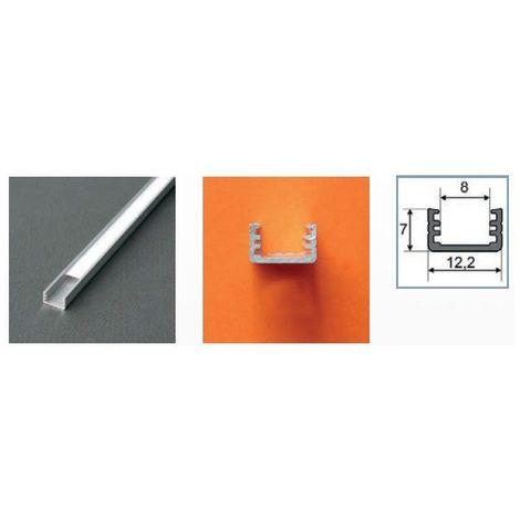Profilé aluminium anodisé LED FIN 2000 mm pour bandeau LED