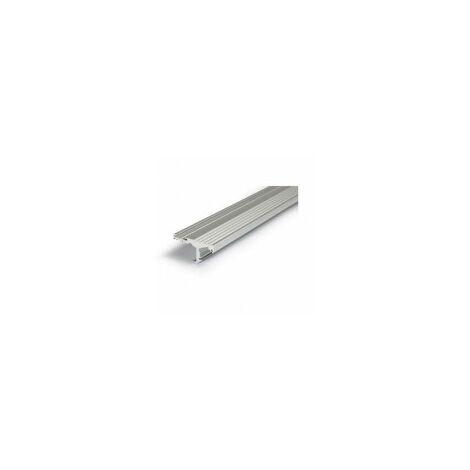 Profilé aluminium anodisé LED MARCHE 1000 mm pour bandeau LED