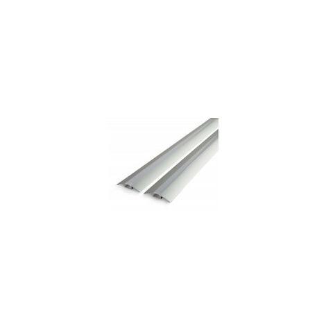 Profilé aluminium de sol ALU-FLAT - Longueur 1m