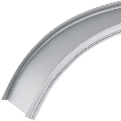 Profilé aluminium de surface flexible modélable16x8 (2m)