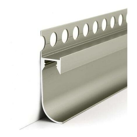 Profilé Aluminium Gris 2m pour Ruban LED - SILAMP