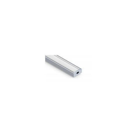 Profilé aluminium plat 7mm SL7 - Longueur 1m