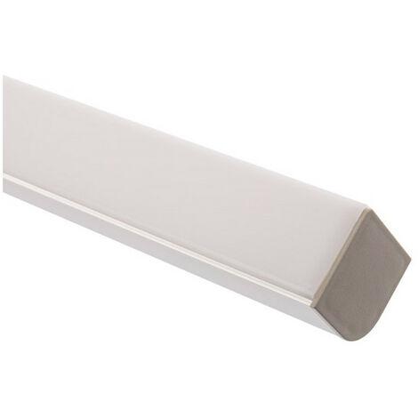 Profilé Aluminium pour Angle avec Capot Continu pour Ruban LED sur Mesure