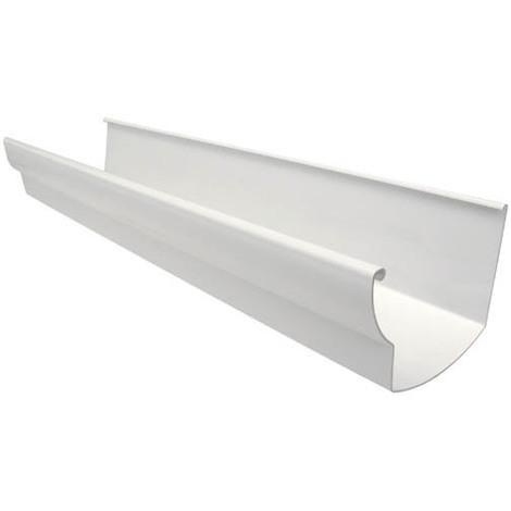 Profilé de gouttiere ovation 28 en 4m blanc