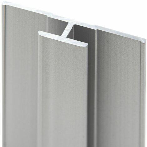Profilé de jonction pour panneau mural de douche, 210 cm, DécoDesign, Schulte,Anthracite