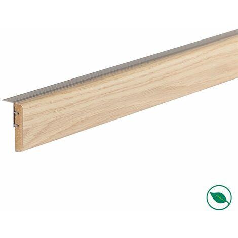 Profilé de transition rénovation d'escalier stratifié florida 1300 x 56 x 12 mm