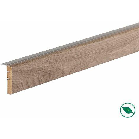 Profilé de transition rénovation d'escalier stratifié louisiana 1300 x 56 x 12 mm