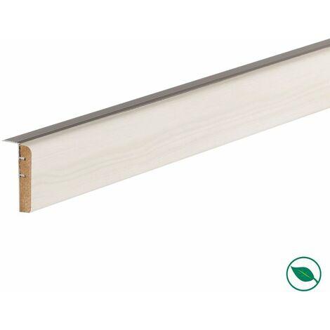 Profilé de transition rénovation d'escalier stratifié nébraska 1300 x 56 x 12 mm