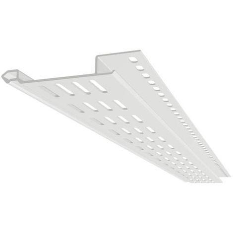 Profilé de ventilation longueur 2 m blanc