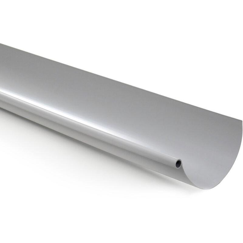 Angle ext/érieur 90/° PVC 16 demi-ronde Goutti/ère PVC 16 demi-ronde gris
