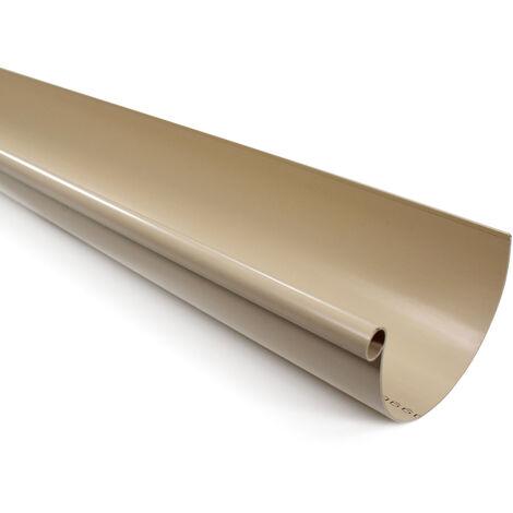 Profile gouttière PVC 16 demi-ronde en 2ml