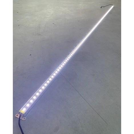Profilé LED 24W rigide de 2m lumiere blanc froid 6000K 2400lm alim 24VDC (driver non incl) dimmable IP20 PROFILIGHT 2M-6000K