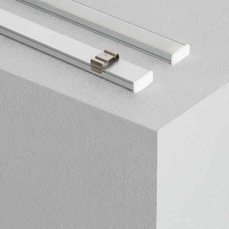 Profilé LED New Aretha 250mm 3W avec Interrupteur sans Contact Blanc Neutre 4000K - Blanc Neutre 4000K