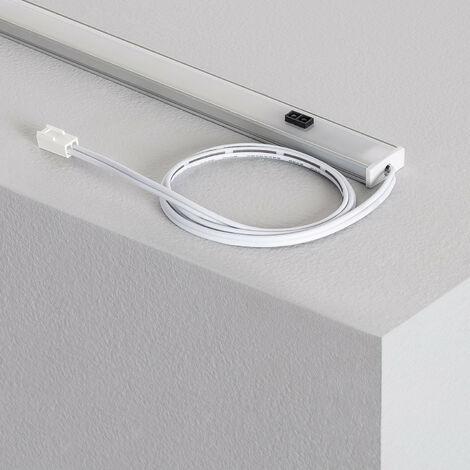 Profilé LED New Aretha 500mm 5W Blanc Chaud 3000K - Blanc Chaud 3000K