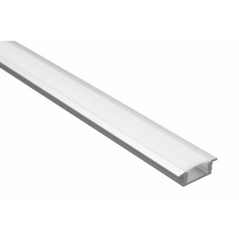 Profilé LED - Série T07 - 1,5 mètre - Diffuseur opaque