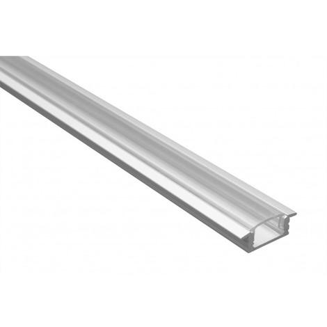 Profilé LED - Série T07 - 1,5 mètre - Diffuseur transparent