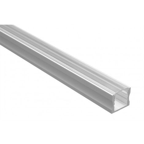 Profilé Led - Série U15 - 1,5 mètre - Diffuseur transparent