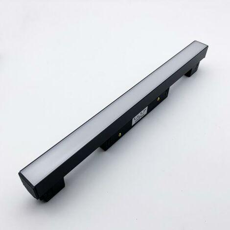 Profilé LED sur Rail Magnétique 48V 10W Opaque - Blanc Neutre 4000K - 5500K - SILAMP