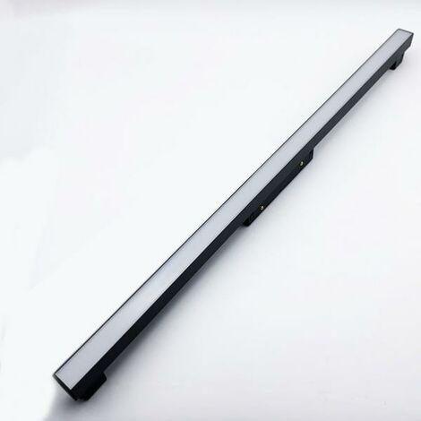 Profilé LED sur Rail Magnétique 48V 20W Opaque - Blanc Neutre 4000K - 5500K - SILAMP