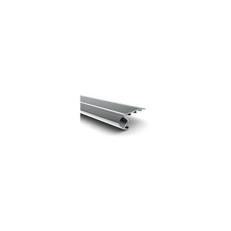 Profilé nez de marche LED pour escalier - Longueur 1m
