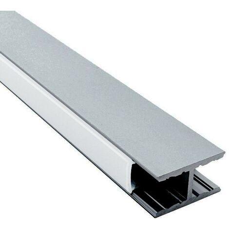 Profilé suspension UP & Down pour ruban LED + diffuseur givré (craft U01) | Longueur du profilé 2 m