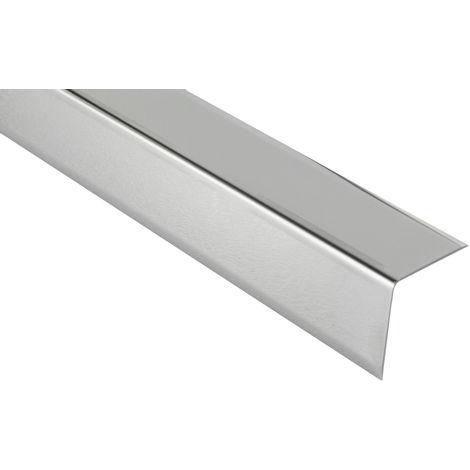 Profilés de protection d'angle en L   acier inoxydable   Hexim   16mm   HEX200