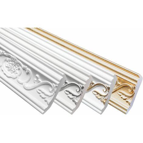 profilés en stuc moulures décoratives | EPS | rigide | Marbet | 53x88mm | B-26