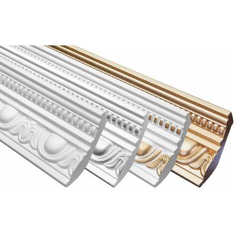 profilés en stuc moulures décoratives | EPS | rigide | Marbet | 70x90mm | B-24