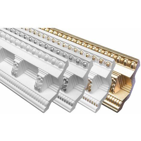 profilés en stuc moulures décoratives | EPS | rigide | Marbet | 96x98mm | B-22