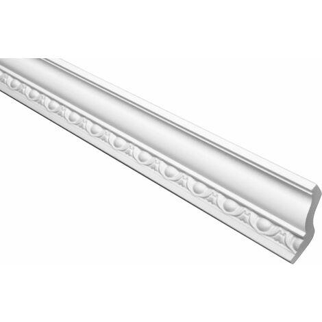 profilés en stuc moulures ornementales | EPS | rigide | Marbet | 48x58mm | B-8
