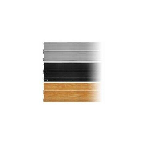 Profiles film rétractable - jeu de 2 profiles couleur bois 1 m x 15 cmsurface de mur recouverte:0,30 m²