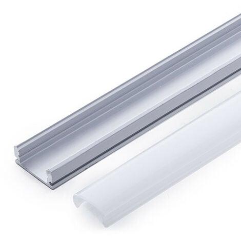 Profilo Alluminio Per Striscia Led - DiffusoreLatteo x 1M (SU-A1707-1M)