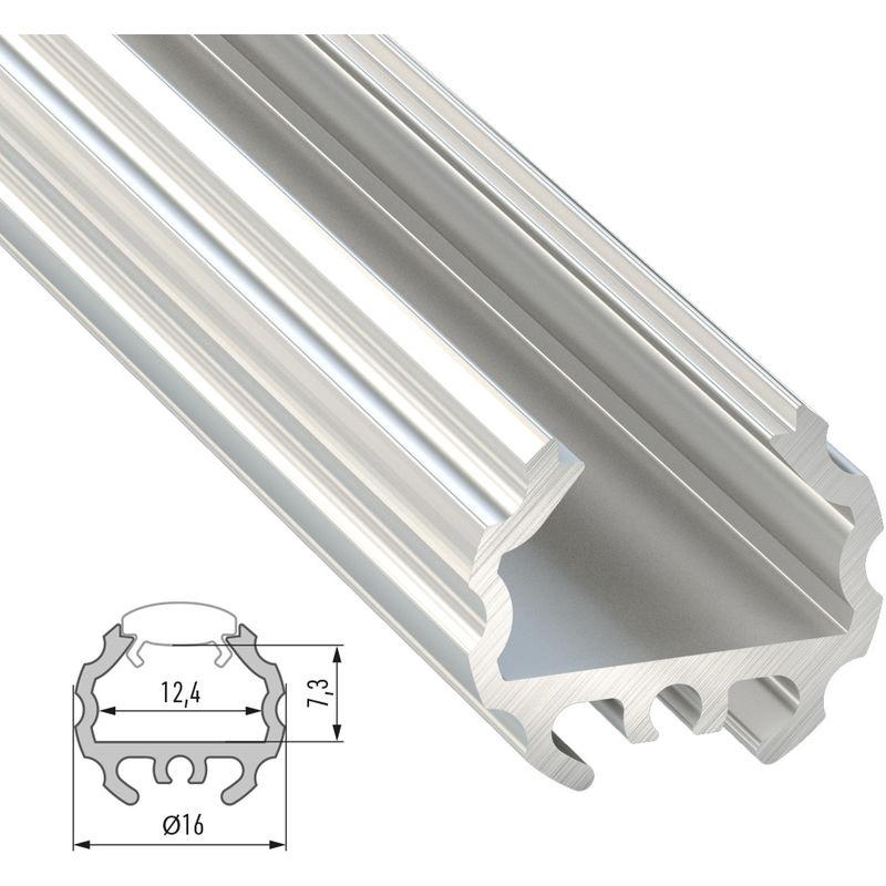 Profilo Alluminio Genere MICO 2,02M   Nero Anodizzato (LL-10-0300-20)