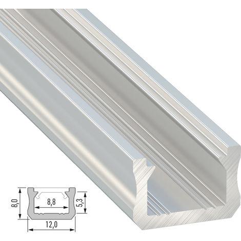 Profilo alluminioGenere X Crudo 2,02M