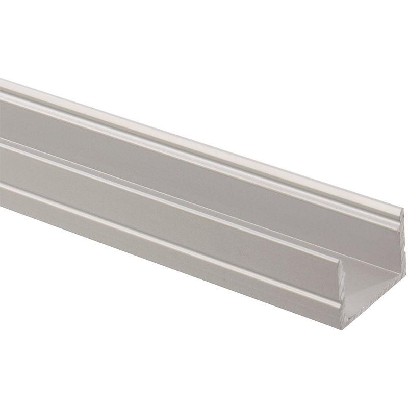 Profilo in Alluminio 1m per Strisce LED 220V Monocolore
