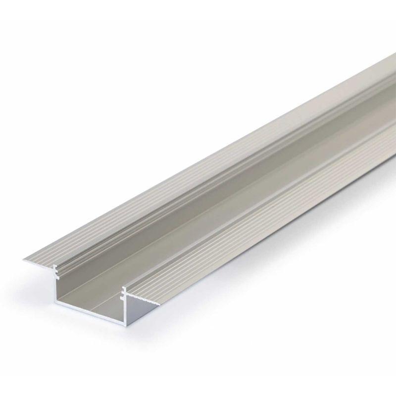 Profilo In Alluminio VARIO30-04 per Cartongesso Stuccabile e Invisibile - Solo Profilo in Alluminio 1 Metro
