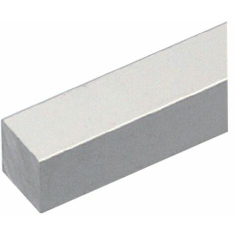 Profilo Quadro Pieno da 1 Mtero in PVC mm 10 Bianco Arcansas