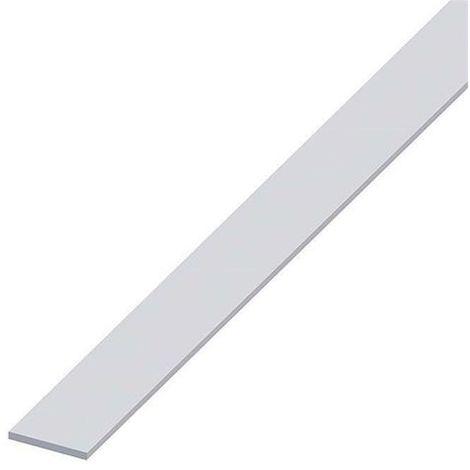 """main image of """"Piatto alluminio verniciato bianco  2mt"""""""