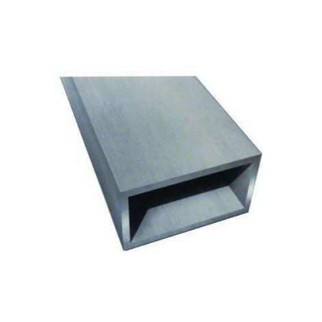 Tubo quadrato in alluminio//tubo rettangolare in alluminio profilo cavo in alluminio fino a 2,0 m