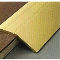 Profilo terminale adesivo alluminio oro satinato mm. 29x930, Profilpas 46 AD