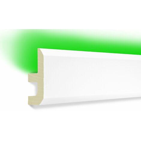Profils LED | éclairage indirect | PU | antichoc | bande | 80x40 | LED-13